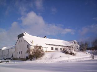 Mlýn - zima